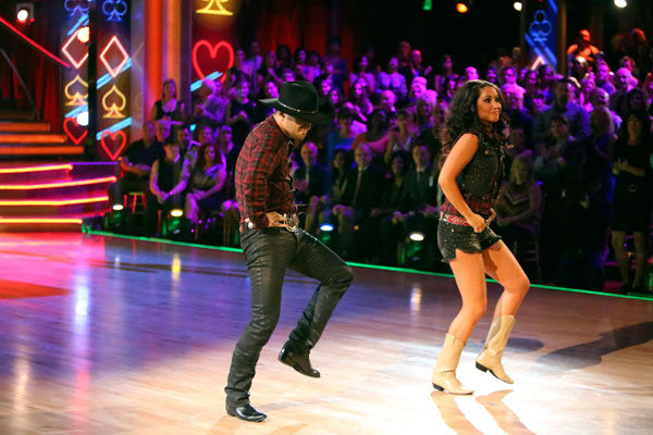 Reality star Bristol Palin and her partner Mark Ballas received 18 out of 30 points from the judges for their Quickstep on week two of 'Dancing With The Stars: All-Stars,' which aired on Oct. 1, 2012.