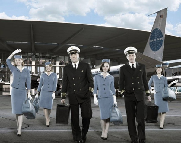 The new drama series &#39;Pan Am,&#39; which depicts the lives of flight attendants and stars Christina Ricci and Kelli Garner, debuts on Sept. 25, 2011 and will air on Sundays from 10 to 11 p.m. <span class=meta>(Sony Pictures Television)</span>