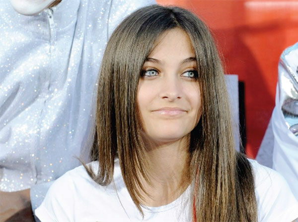 Michael Jackson's daughter Paris is seen in this undated photo, taken following his death in June 2009. The image was presented as evidence during the singer's wrongful de