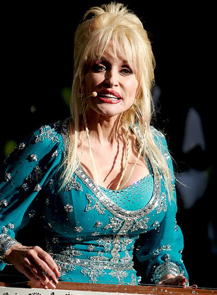 Dolly Parton performs at the Hardly Strictly...