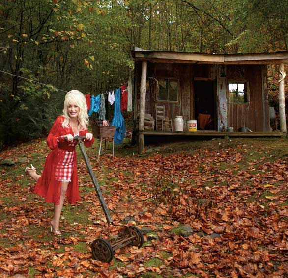 Dolly Parton appears in a publicity photo promoting her album &#39;Backwoods Barbie.&#39; It was released on Feb. 26, 2008. <span class=meta>(Dolly Records)</span>