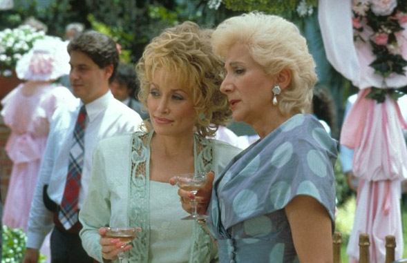 Dolly Parton and Olympia Dukakis appear in a...