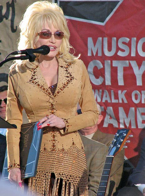 "<div class=""meta ""><span class=""caption-text "">Dolly Parton was inducted into the Music City Walk of Fame in Nashville, Tennessee on Nov. 8, 2009 (pictured), along with Charlie Daniels and Kid Rock. (Christy Frink / flickr.com/photos/scribebytrade)</span></div>"