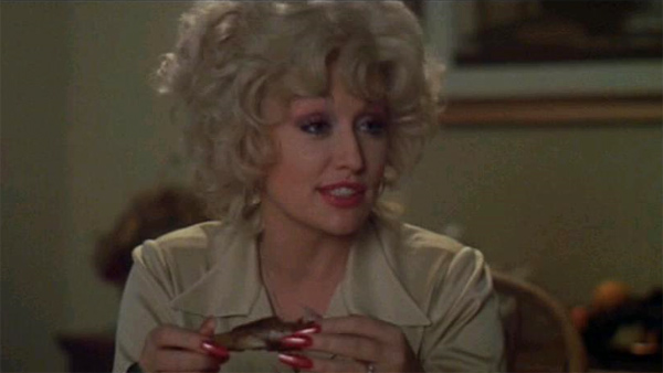 Dolly Parton appears in a scene from the 1980 movie 'Nine To Five.'