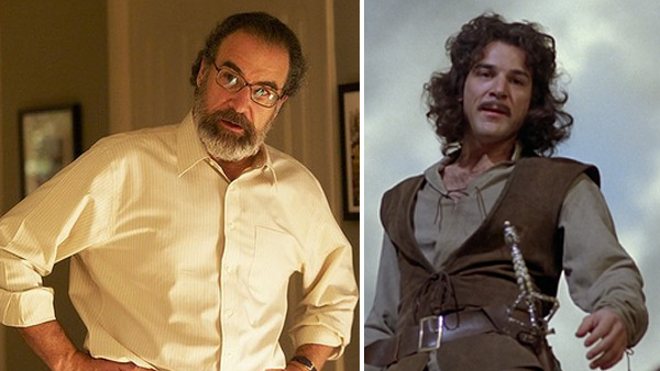 Mandy Patinkin appears in a scene from 'Homeland.' / Mandy Patinkin appears in a still from 'The Princess Bride.'