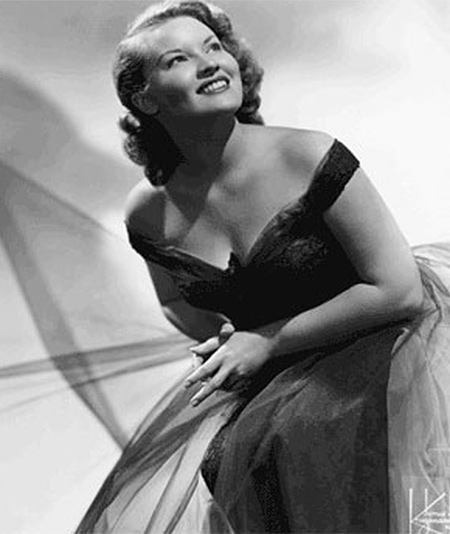 Patti Page, a pop singer dubbed &#39;The Singing Rage,&#39; who rose to fame in the 1950s with songs such as &#39;Tennessee Waltz,&#39; died on January 1 -- New Year&#39;s Day -- at age 85.  She passed away in Encinitas, California and is survived by her son, Daniel O&#39;Curran, daughter, Kathleen Ginn and sister, Peggy Layton, her rep said in a statement to OTRC.com.  The singer, born Clara Ann Fowler, began her singing career in Tulsa, Oklahoma. She recorded 50 albums, including 14 platinum records and 19 gold ones. She was considered one of the most successful female singers of the 1950s.  Her 1950 cover of &#34;Tennessee Waltz&#34; hit No. 1 on the U.S. chart and was also popular in Japan. It was made a state song of Tennessee in 1965.  &#40;Pictured: Patti Page is pictured in a 1950s publicity photo.&#41; <span class=meta>(misspattipage.com)</span>