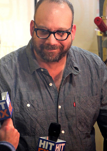 Paul Giamatti gives an interview at the NY...