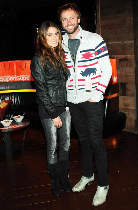 "<div class=""meta ""><span class=""caption-text "">'Twilight's Nikki Reed and husband Paul McDonald celebrated the opening of Superdry USA's second Los Angeles store on Santa Monica's Third Street Promenade at the Los Angeles Lakers' suite at Hyde Lounge in Staples Center in Los Angeles on March 23, 2012, during the team's game against the Portland Trail Blazers.McDonald married Reed on Oct. 16, 2011, several months after the musician placed eighth on the 10th season of the FOX show 'American Idol.' (StarTraksPhoto.com)</span></div>"