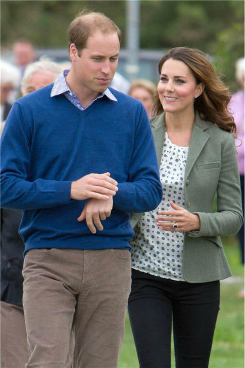 "<div class=""meta ""><span class=""caption-text "">Kate Middleton and Prince William appear at the Ring O'Fire Anglesey Coastal Ultra Marathon in Anglesey in the United Kingdom on Aug. 30, 2013. This marked the Duchess of Cambridge's first official public appearance since she and William welcomed their son, Prince George, who is their first child, on July 22. It came as a surprise to participants. Kate was originally scheduled to make her first public appearance on Sept. 12, at the Tusk Conservation Awards in London.  (Barcroft Media / Startraksphoto.com)</span></div>"