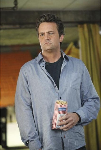 Matthew Perry in a scene from the 2011 television series, 'Mr. Sunshine.'