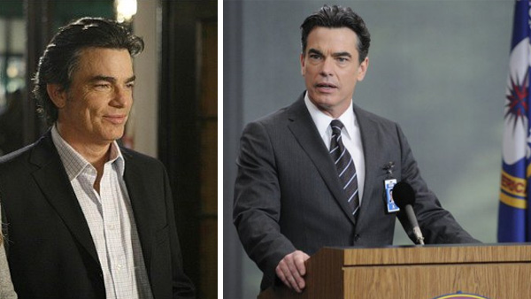 Peter Gallagher appears in a scene from 'The...