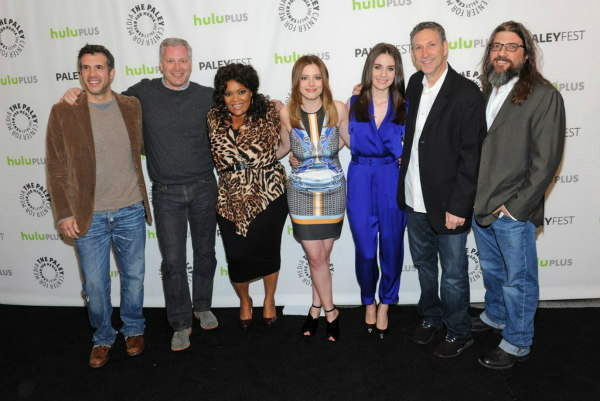 Cast and producers of &#39;Community&#39; attend the Paley Center for Media&#39;s PaleyFest event honoring the NBC series, courtesy of Samsung Galaxy, at the Saban Theatre, in Los Angeles on Tuesday March 5, 2013. <span class=meta>(Photo&#47;Kevin Parry for Paley Center for Media)</span>