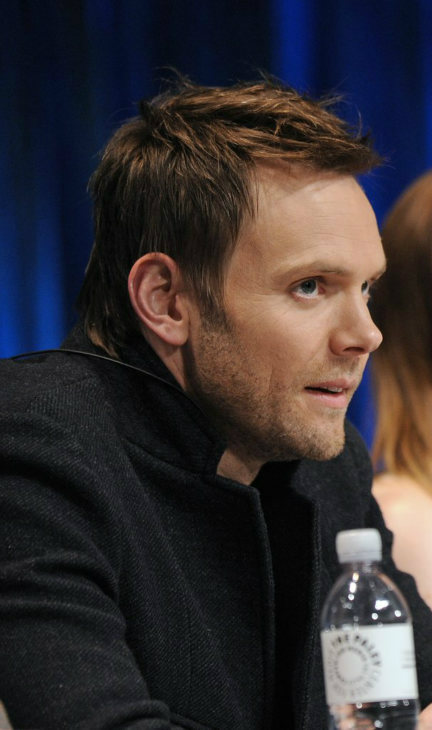 Joel McHale at a panel discussion during the Paley Center for Media&#39;s PaleyFest event honoring &#39;Community,&#39; courtesy of Samsung Galaxy, at the Saban Theatre, in Los Angeles on Tuesday March 5, 2013. <span class=meta>(Photo&#47;Kevin Parry for Paley Center for Media)</span>