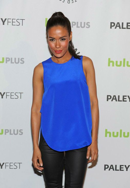 "<div class=""meta ""><span class=""caption-text "">Actress Daniella Alsonso, who portrays Nora Clayton on the NBC series 'Revolution,' attends a PaleyFest panel event, courtesy of Samsung Galaxy, at the Saban Theatre on March 2, 2013. (Kevin Parry for Paley Center for Media)</span></div>"