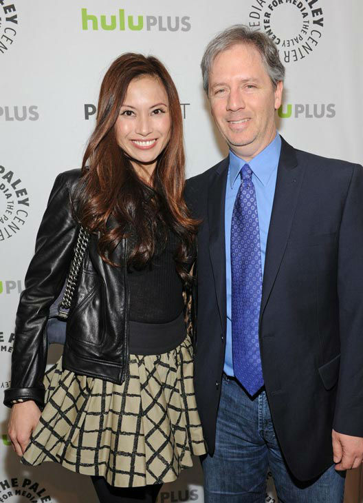 Michael Robin &#40;R&#41; attends the Paley Center for Media&#39;s PaleyFest event honoring &#39;Dallas,&#39; courtesy of Samsung Galaxy, at the Saban Theatre in Los Angeles on March 10, 2013. <span class=meta>(Photo&#47;Kevin Parry for Paley Center for Media)</span>