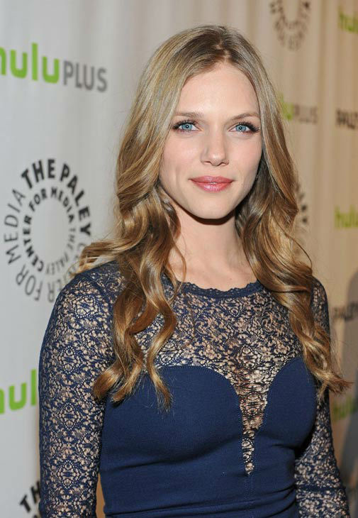 "<div class=""meta ""><span class=""caption-text "">Tracy Spiridakos, a lead actress on 'Revolution,' attends a PaleyFest event honoring the NBC series, courtesy of Samsung Galaxy, at the Saban Theatre in Los Angeles on March 2, 2013. (Kevin Parry for Paley Center for Media)</span></div>"
