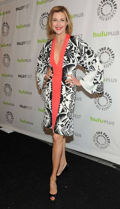 Brenda Strong attends the Paley Center for Media&#39;s PaleyFest event honoring &#39;Dallas,&#39; courtesy of Samsung Galaxy, at the Saban Theatre in Los Angeles on March 10, 2013. <span class=meta>(Photo&#47;Kevin Parry for Paley Center for Media)</span>