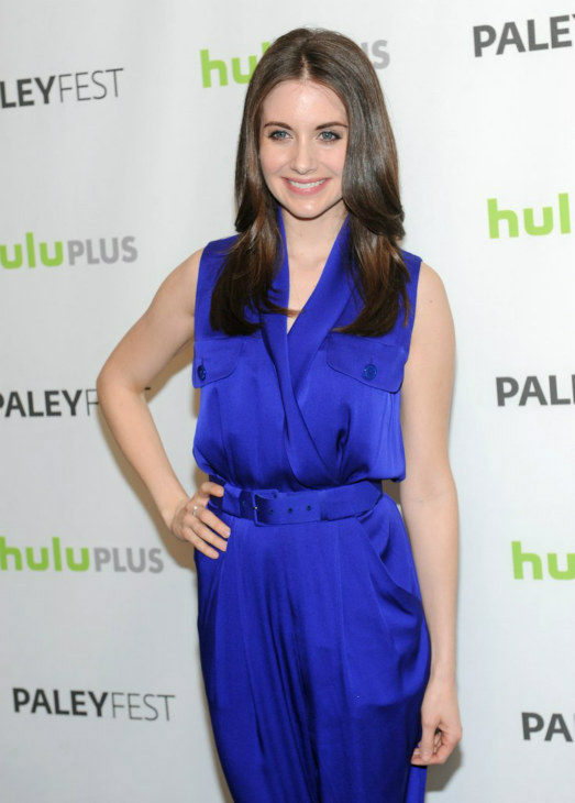 Alison Brie attends the Paley Center for Media&#39;s PaleyFest event honoring &#39;Community,&#39; courtesy of Samsung Galaxy, at the Saban Theatre, in Los Angeles on Tuesday March 5, 2013. <span class=meta>(Photo&#47;Kevin Parry for Paley Center for Media)</span>