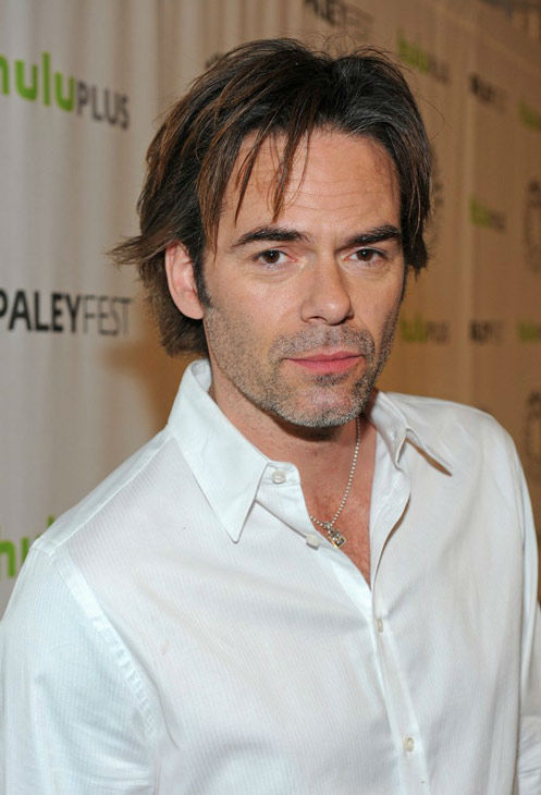 "<div class=""meta ""><span class=""caption-text "">Billy Burke, a lead actor on the NBC series 'Revolution,' attends a PaleyFest panel event for the show, courtesy of Samsung Galaxy, at the Saban Theatre in Los Angeles on March 2, 2013. (Kevin Parry for Paley Center for Media)</span></div>"