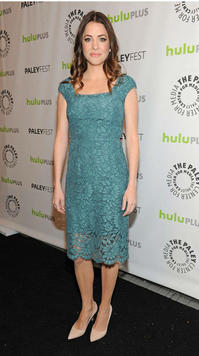 Julie Gonzalo attends the Paley Center for Media&#39;s PaleyFest event honoring &#39;Dallas,&#39; courtesy of Samsung Galaxy, at the Saban Theatre in Los Angeles on March 10, 2013. <span class=meta>(Photo&#47;Kevin Parry for Paley Center for Media)</span>