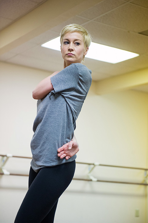 'Dancing With The Stars' season 16 cast member Kellie Pickler rehearses ahead of the premiere on March 18, 2013.