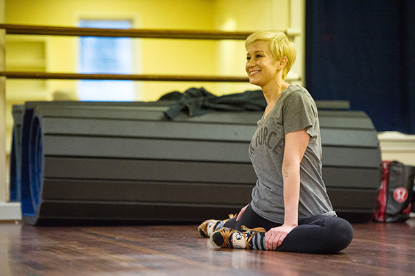 &#39;Dancing With The Stars&#39; season 16 cast member Kellie Pickler rehearses ahead of the premiere on March 18, 2013. <span class=meta>(ABC Photo &#47; John LeMay)</span>