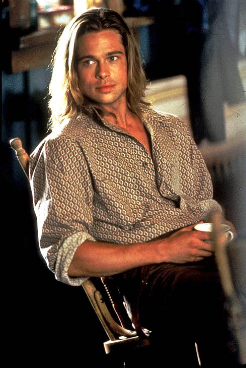 Brad Pitt appears in a scene from the 1994 movie 'Legends of the Fall.'