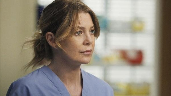 Ellen Pompeo appears in a scene from the hit ABC show 'Grey's Anatomy.'