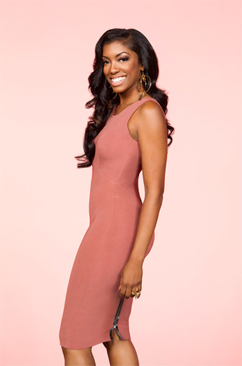 Porsha Williams appears in an undated publicity photo for Bravo's 'The Real Housewives of Atlanta.'