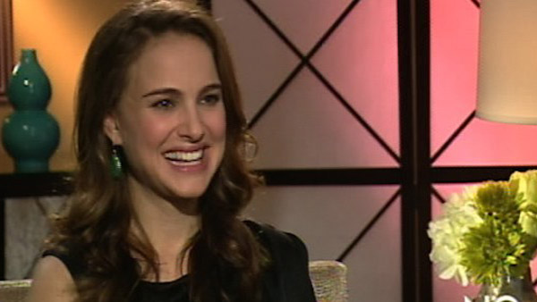 Natalie Portman speaks to OnTheRedCarpet.com in...
