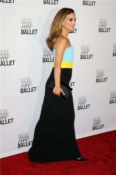 "<div class=""meta ""><span class=""caption-text "">Natalie Portman attends the New York City Ballet 2013 Fall Gala at the David H. Koch Theater at Lincoln Center in New York on Sept. 19, 2013. Portman is wearing a Christian Dior Fall 2013 Haute Couture gown. She is a spokesmodel for the luxury brand. (Humberto Carreno / Startraksphotos.com)</span></div>"