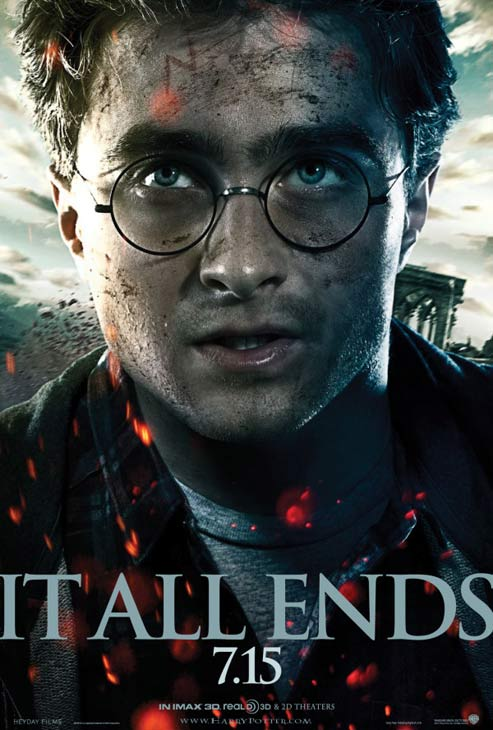 Daniel Radcliffe appears as Harry Potter in a promotional photo for the film &#39;Harry Potter and the Deathly Hallows - Part 2.&#39; <span class=meta>(Warner Bros. Pictures)</span>