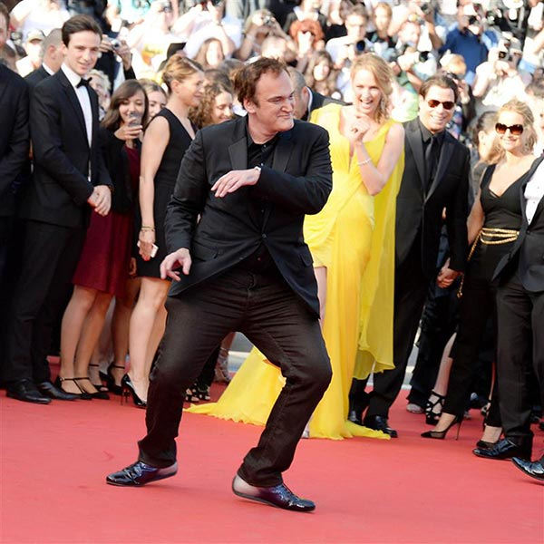 Director Quentin Tarantino and actress Uma Thurman arrive for the screening of &#39;Clouds of Sils Maria&#39; at the Cannes Film Festival in France on May 23, 2014. He directed the actress in &#39;Pulp Fiction,&#39; which marks its 20th anniversary in October. <span class=meta>(Nicolas Briquet &#47; ABACA &#47; Startraksphoto.com)</span>