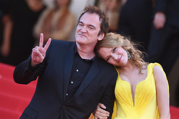 "<div class=""meta ""><span class=""caption-text "">Director Quentin Tarantino and actress Uma Thurman arrive for the screening of 'Clouds of Sils Maria' at the Cannes Film Festival in France on May 23, 2014. He directed the actress in 'Pulp Fiction,' which marks its 20th anniversary in October. (Lionel Hahn / ABACA / Startraksphoto.com)</span></div>"