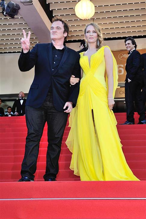 "<div class=""meta image-caption""><div class=""origin-logo origin-image ""><span></span></div><span class=""caption-text"">Director Quentin Tarantino and actress Uma Thurman arrive for the screening of 'Clouds of Sils Maria' at the Cannes Film Festival in France on May 23, 2014. He directed the actress in 'Pulp Fiction,' which marks its 20th anniversary in October. (Aurore Marechal / ABACA / Startraksphoto.com)</span></div>"