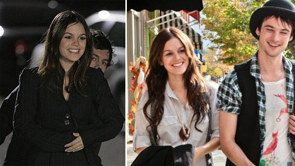 Rachel Bilson and Adam Brody appear in a scene...