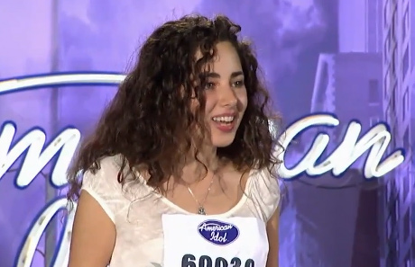 "<div class=""meta ""><span class=""caption-text "">Rachel Zevita, a 22-year-old from New York, NY, was made an 'American Idol' Top 24 finalist. (Pictured: Rachel Zevita performs in front of the judges on 'American Idol' on an episode that aired on Jan. 19, 2011.) (Michael Becker / FOX)</span></div>"