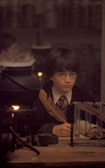 Harry Potter &#40;Daniel Radcliffe&#41; appears in a scene from the 2001 film &#39;Harry Potter and the Sorcerer&#39;s Stone,&#39; also called &#39;Harry Potter and the Philosopher&#39;s Stone.&#39; <span class=meta>(Warner Bros. Pictures)</span>