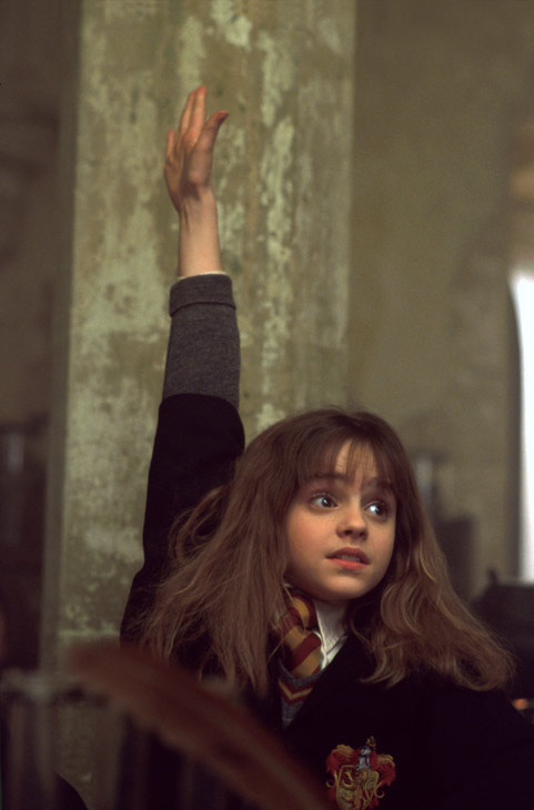Hermione Granger &#40;Emma Watson&#41; appears in a scene from the 2001 film &#39;Harry Potter and the Sorcerer&#39;s Stone,&#39; also called &#39;Harry Potter and the Philosopher&#39;s Stone.&#39; <span class=meta>(Warner Bros. Pictures)</span>