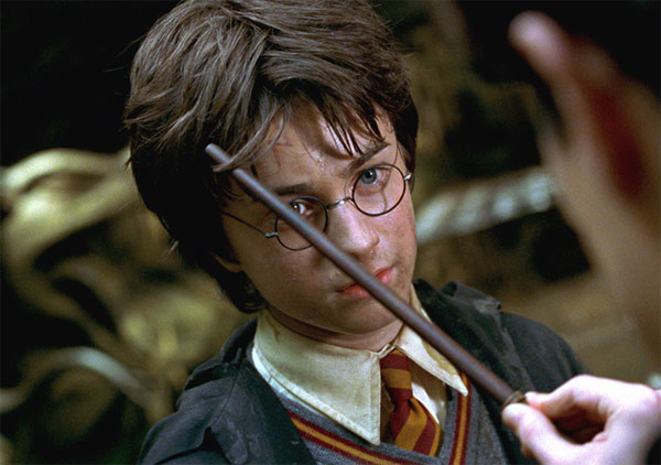 Harry Potter &#40;Daniel Radcliffe&#41; appears in a scene from the 2002 film &#39;Harry Potter and the Chamber of Secrets.&#39; <span class=meta>(Warner Bros. Pictures)</span>