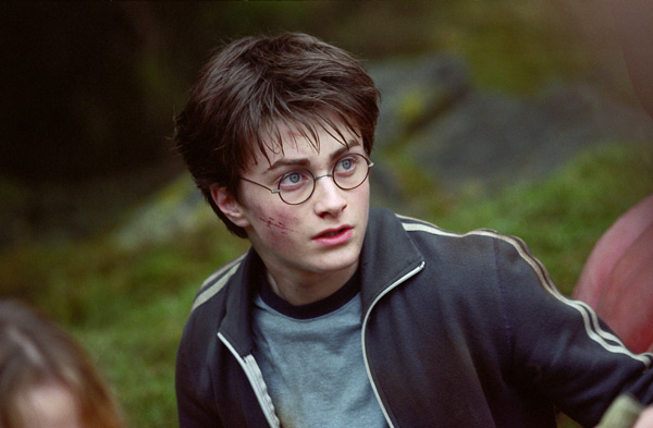 Harry Potter (Daniel Radcliffe) appears in a scene from the 2004 film 'Harry Potter and the Prisoner of Azkaban.'