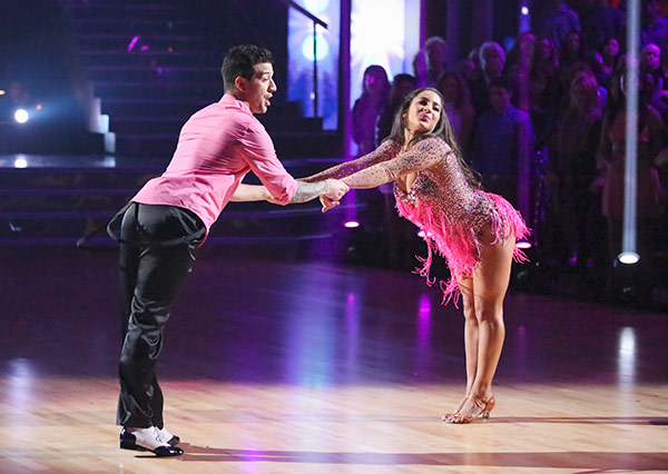"<div class=""meta ""><span class=""caption-text "">Olympic gymnast Aly Raisman and her partner Mark Ballas received 21 out of 30 points from the judges for their Cha Cha Cha routine on the season premiere of 'Dancing With The Stars,' which aired on March 18, 2013. (ABC Photo)</span></div>"