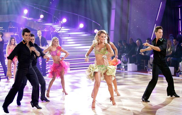 "<div class=""meta ""><span class=""caption-text "">An all-new pro dance troupe of six world renowned performers made its debut on 'Dancing With The Stars: The Results Show,' Tuesday, March 29, 2011. (ABC Photo/ Adam Taylor)</span></div>"