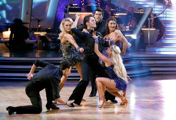 An all-new pro dance troupe of six world renowned performers made its debut on &#39;Dancing With The Stars: The Results Show,&#39; Tuesday, March 29, 2011. <span class=meta>(ABC Photo&#47; Adam Taylor)</span>