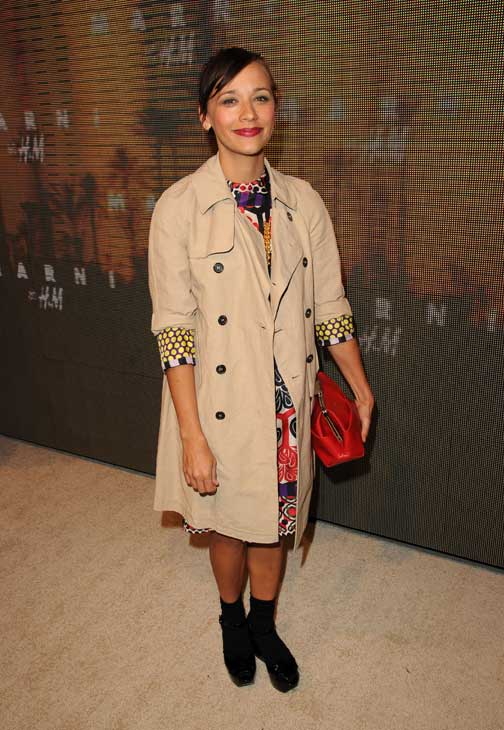 Rashida Jones appears at the launch party for H and M's Marni collection in Los Angeles on Feb. 17, 2012.