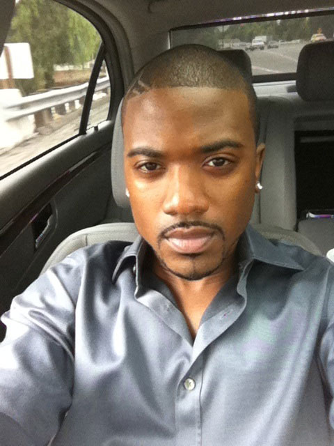 Ray J appears in a photo posted on his Twitter page on Oct. 10, 2010.