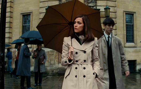 Rose Byrne appears as Dr. Moira MacTaggert in a scene from 'X-Men: First Class.'