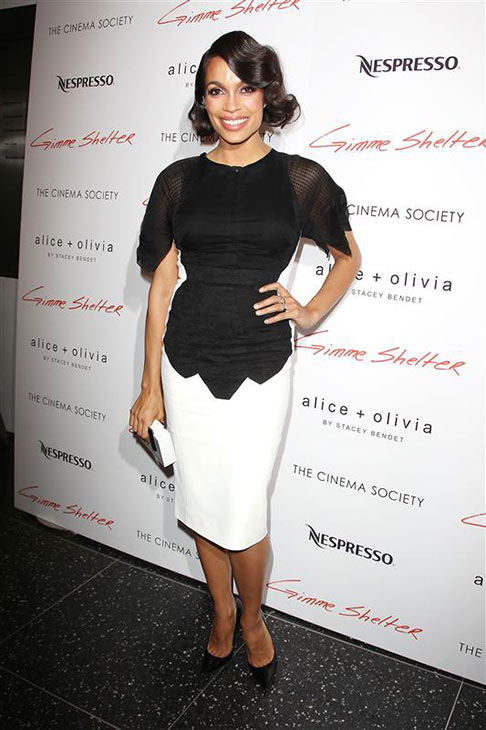 "<div class=""meta ""><span class=""caption-text "">Rosario Dawson attends a screening of 'Gimme Shelter' at the Museum of Modern Art New York in New York on Jan. 22, 2014. (Kristina Bumphrey / Startraksphoto.com)</span></div>"