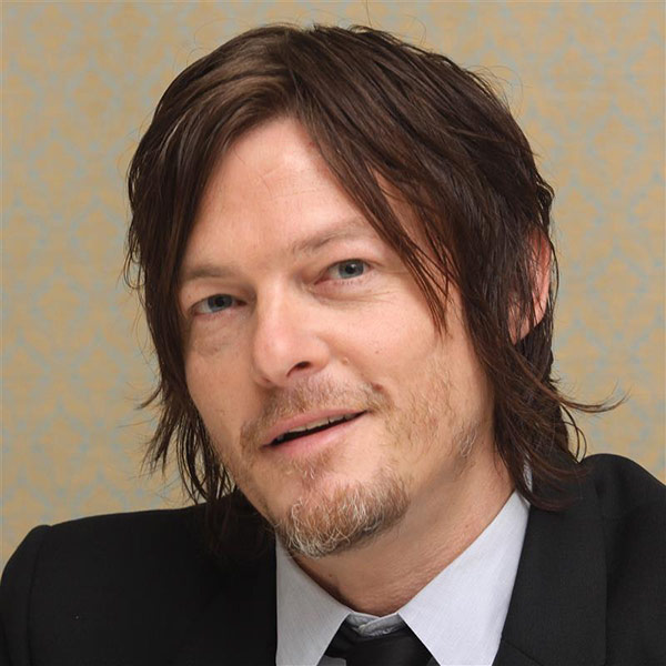 "<div class=""meta ""><span class=""caption-text "">The 'Four-Glorious-Seasons-Of-Daryl-Dixon' stare: Norman Reedus appears at a press conference to promote 'The Walking Dead' season 4 at the Four Seasons hotel in Beverly Hills, California on April 30, 2013. (Munawar Hosain / Startraksphoto.com)</span></div>"