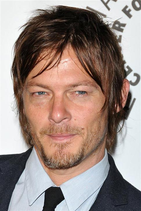 The &#39;Emo-Daryl&#39; stare: Norman Reedus appears at a Paley Center for Media event on the rooftop of The Lot in West Hollywood on Oct. 22, 2012. <span class=meta>(Tony DiMaio &#47; Startraksphoto.com)</span>